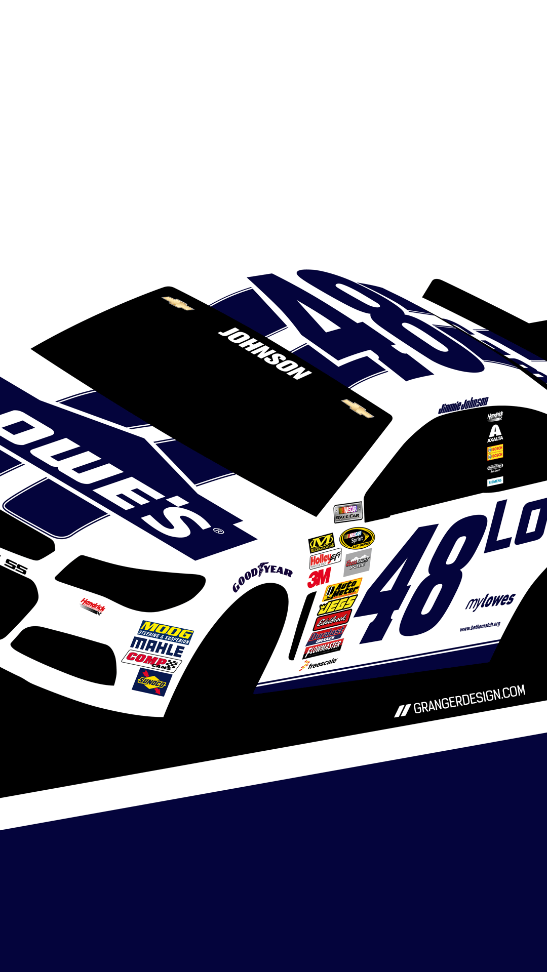 Displaying 16 Images For   Jimmie Johnson Iphone Wallpaper 1080x1920
