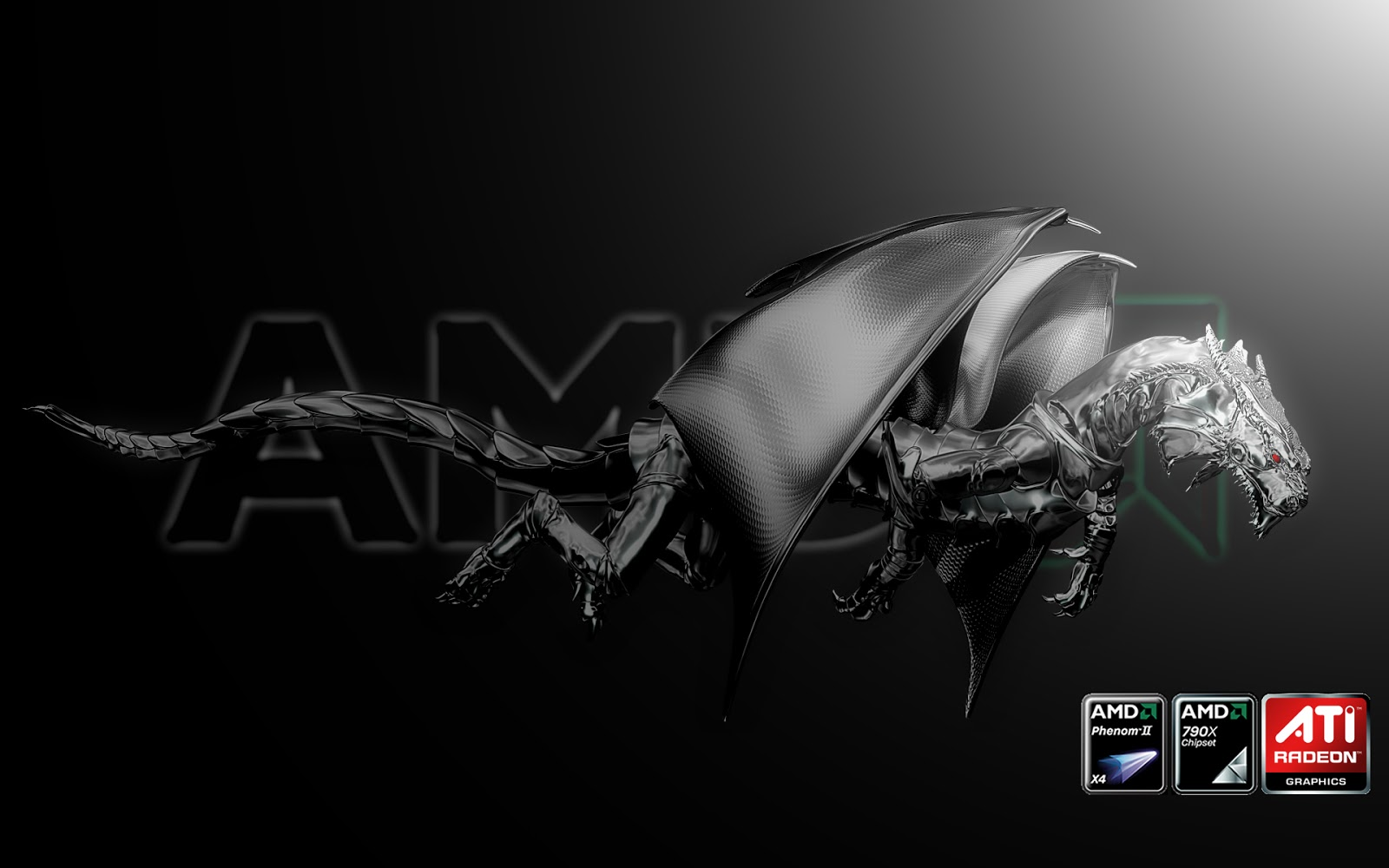 Mystery Wallpaper AMD Phenom II X4 1600x1000