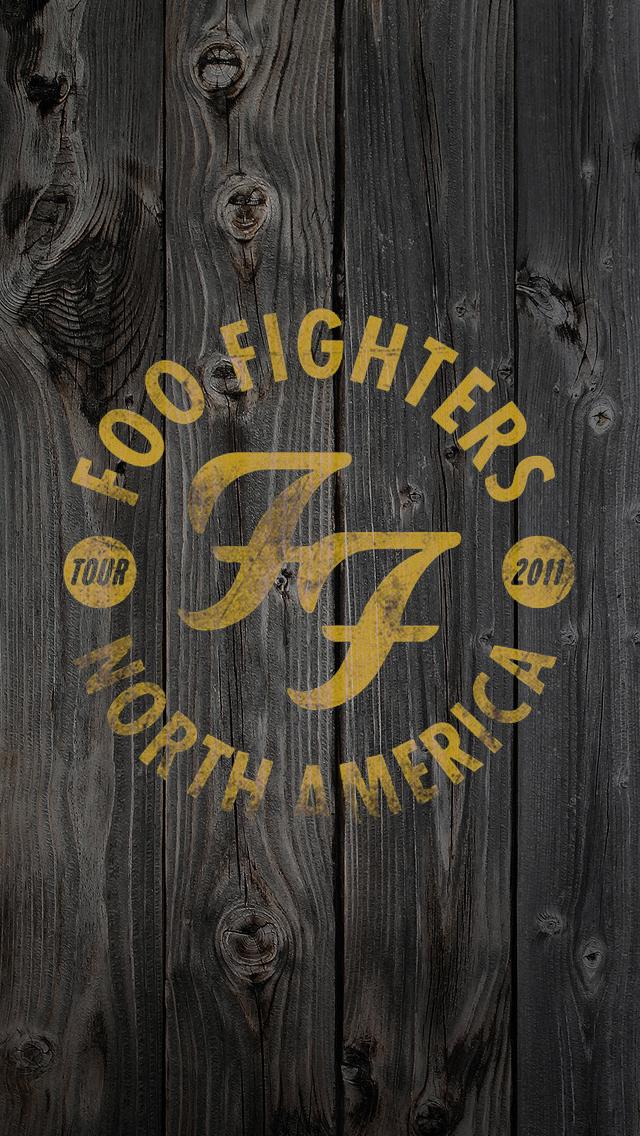 Foo Fighters Wallpaper 640x1136