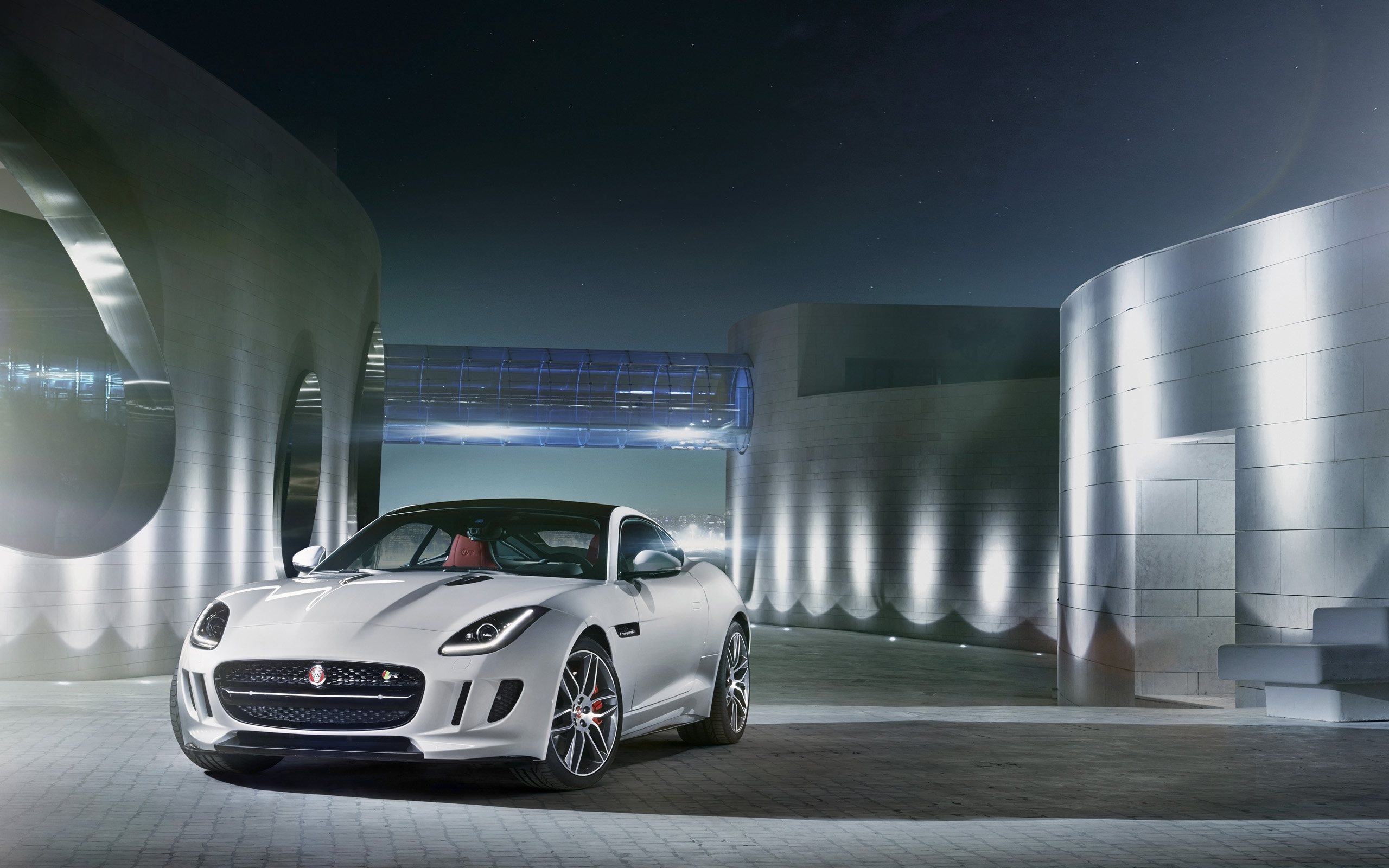 Jaguar F Type R Coupe 2014 Wallpapers HD Wallpapers 2560x1600