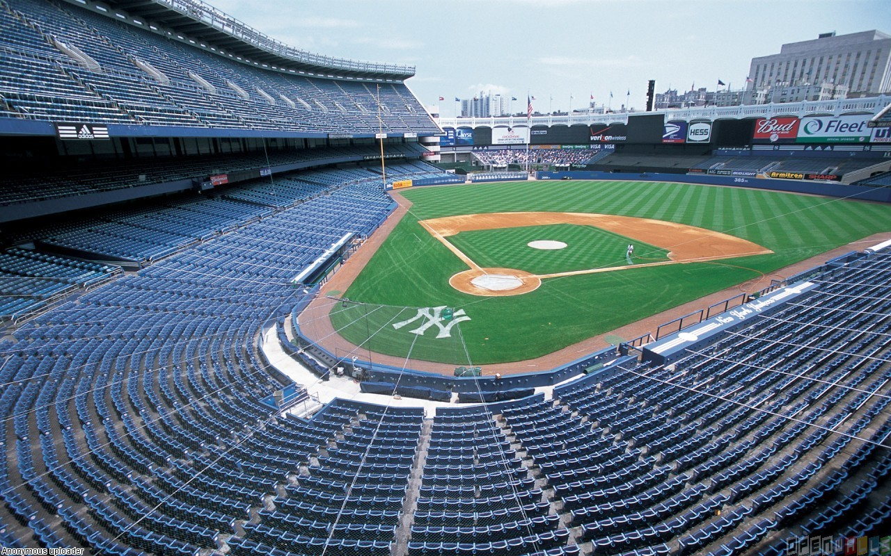 Ny baseball stadium wallpaper 4625   Open Walls 1280x800