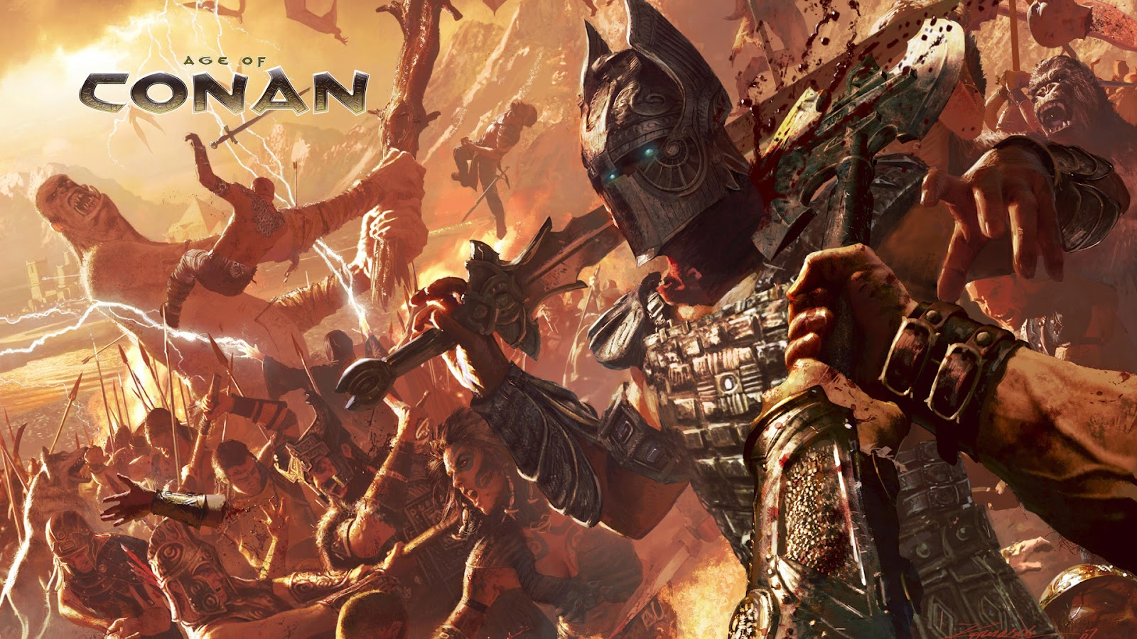 AgeofConanwallpapers6 Age of Conan Wallpapers in HD with 1920x1080 1600x900