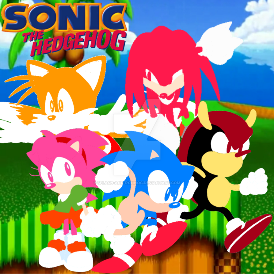 Classic Sonic Wallpaper By Splash And Ronnoc 894x894