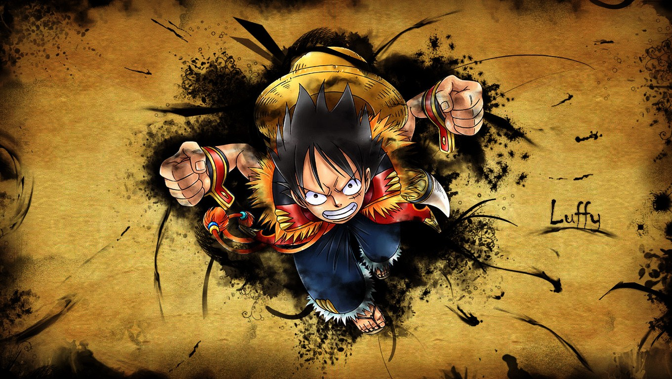 one piece wallpaper   httpwallpapermonkeycom 1360x768