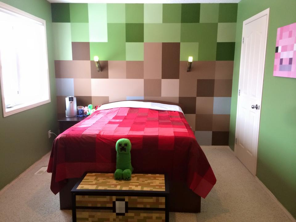 The Dream Minecraft Bedroom Geek Decor 960x720