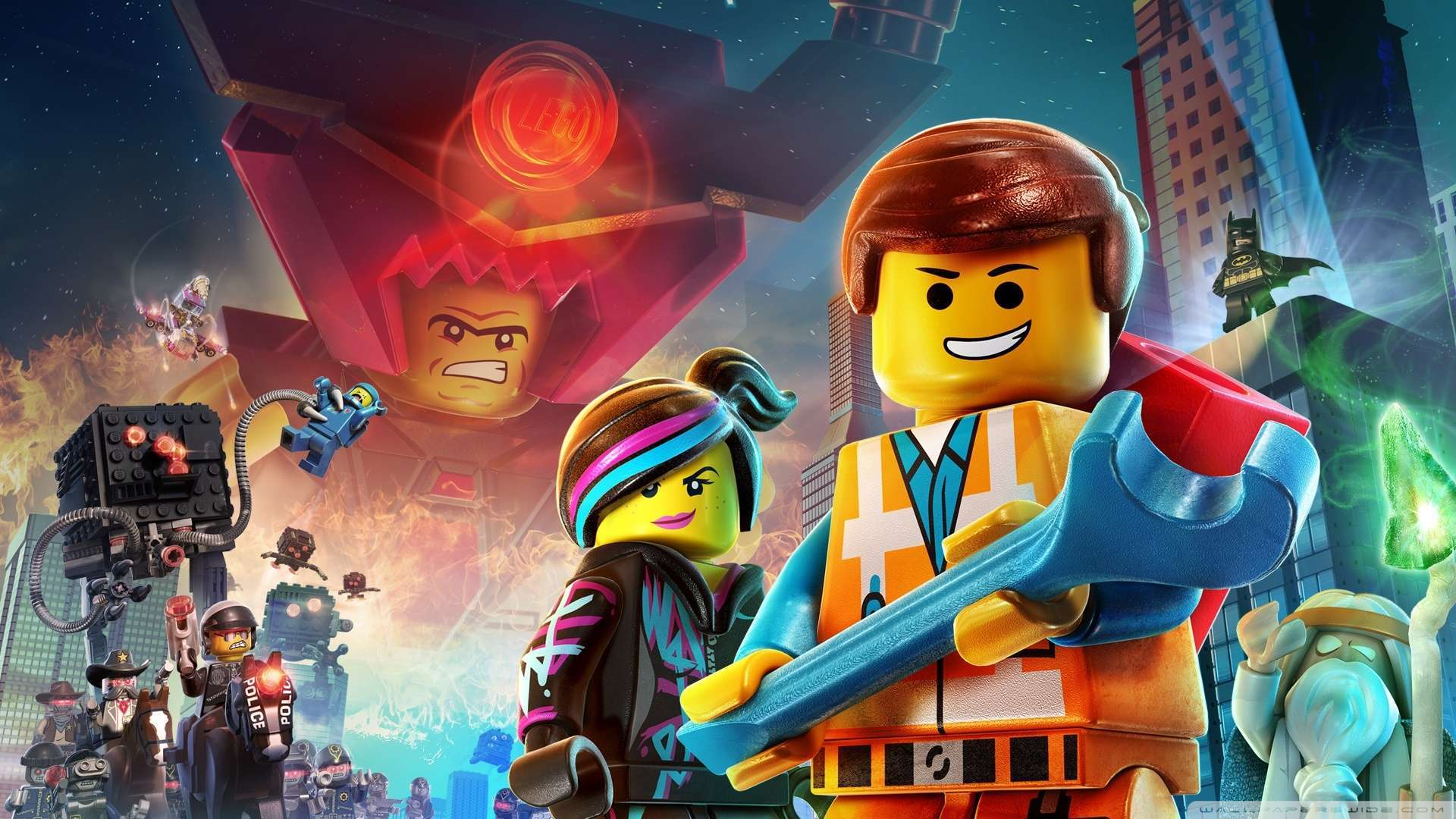 Wallpaper The Lego Movie 2015 Wallpaper 1080p HD Upload at February 1920x1080