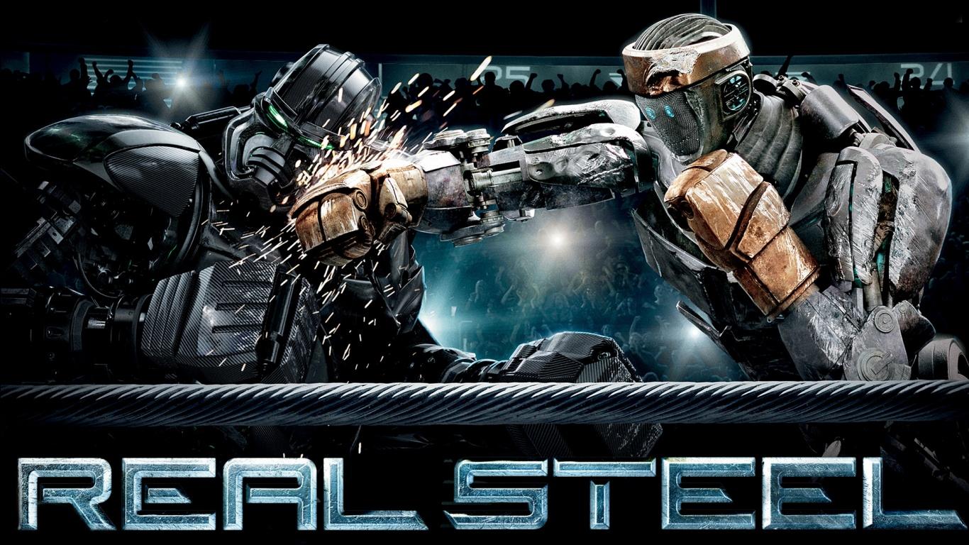 Real Steel Battle Wallpapers HD Wallpapers 1366x768