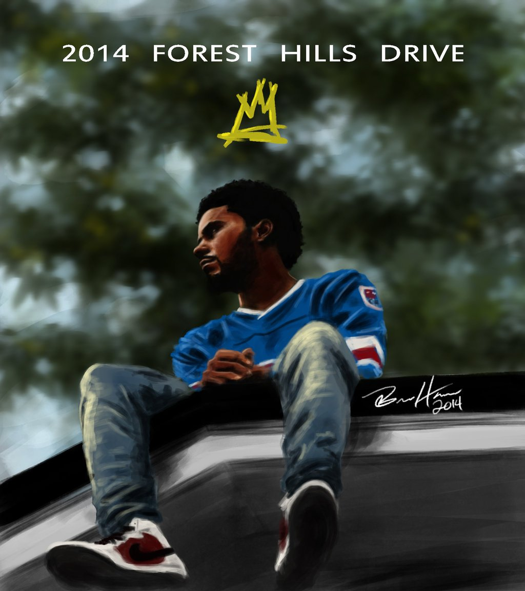 Cole 2014 Forest Hills Drive painting by Yellaboy23 1024x1152