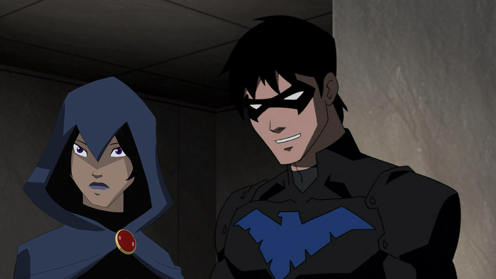 gallery for nightwing young justice wallpaper