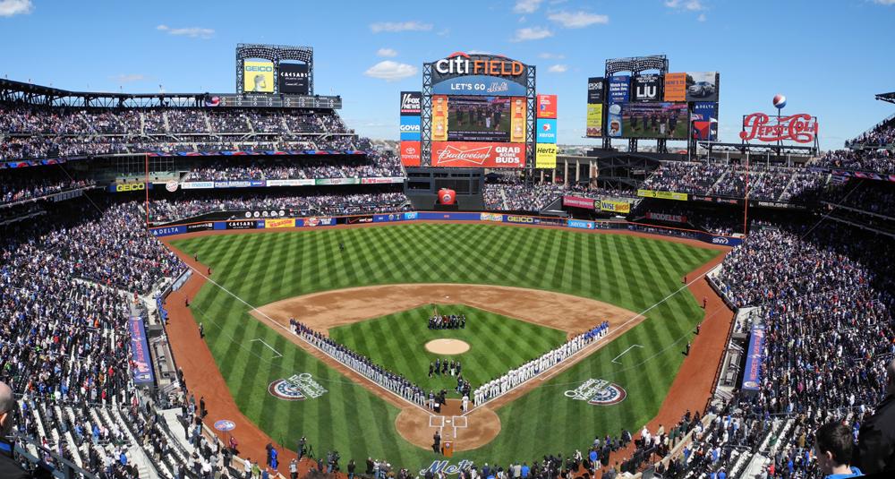 Mets Wallpaper Citi Field New york mets vs atlanta 1000x535