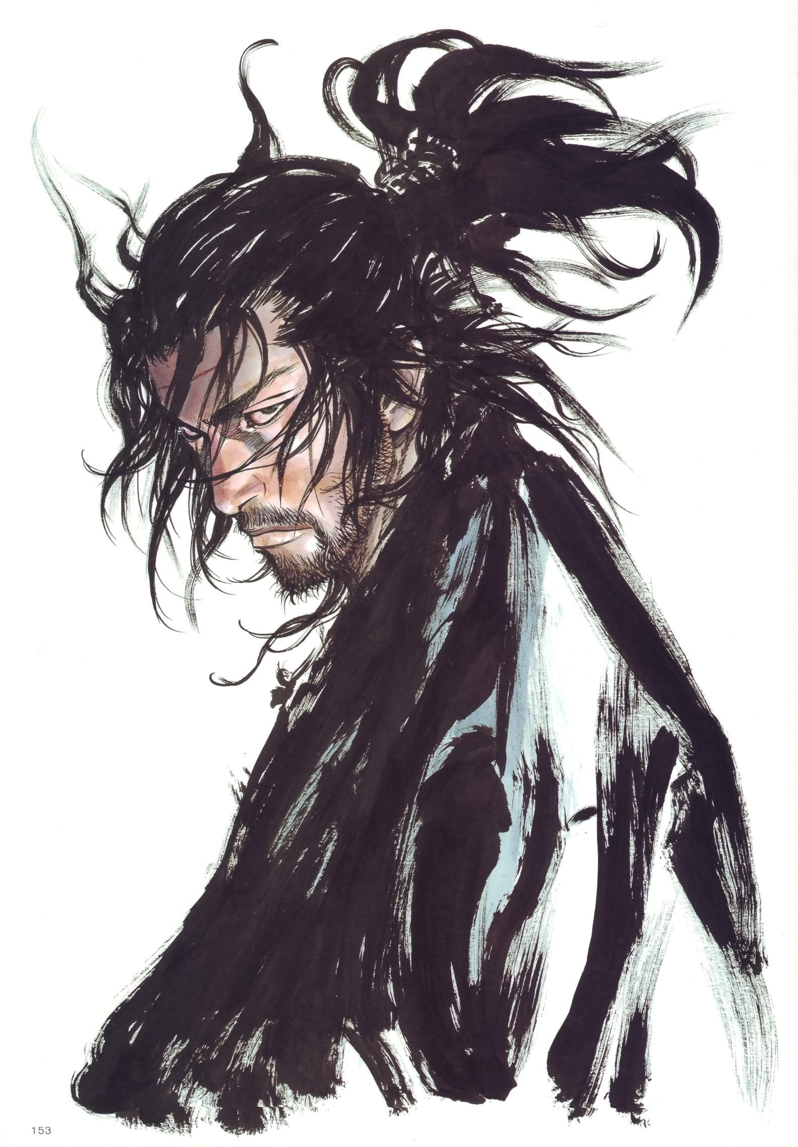 Miyamoto Musashi vagabond   Zerochan Anime Image Board 1587x2280