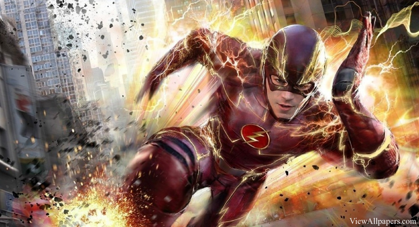 Resolution Wallpaper download The Flash Television Show For PC 1600x867