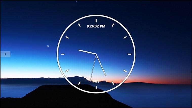 Часы для виндоус 8