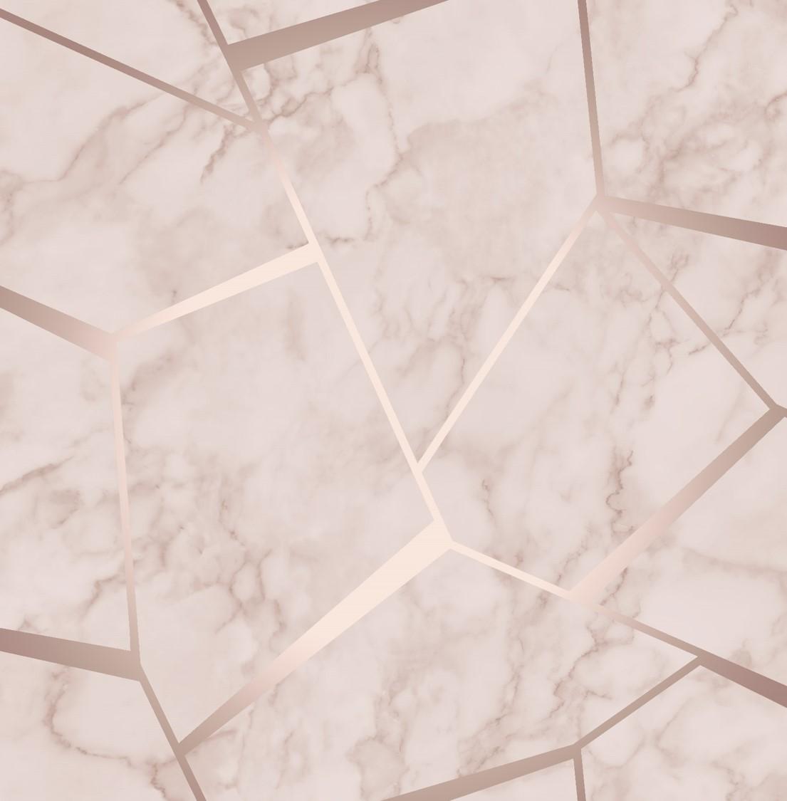 Fractal Geometric Marble Wallpaper Rose Gold FD42264 Wallpaper Sales 1105x1125