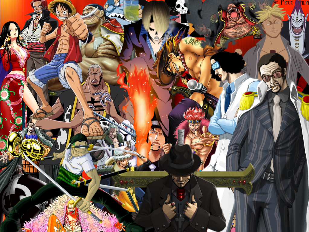 Wallpaper One Piece   fond dcran One Piece   Photos One Piece 1024x768