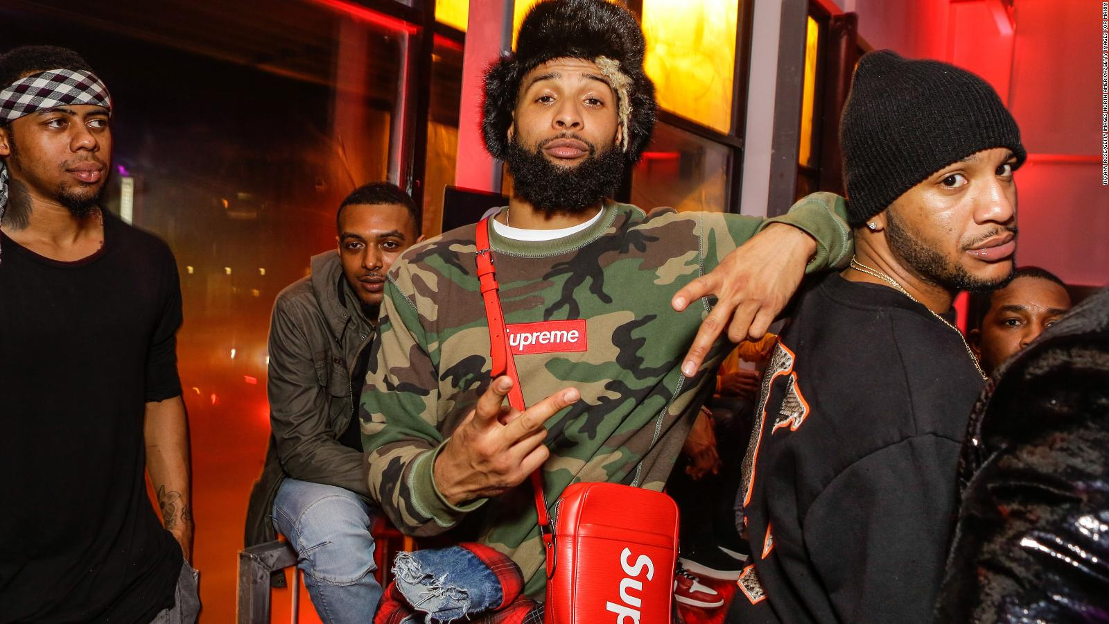 Odell Beckham Jr is the style icon the NFL needs   CNN Style 1600x900