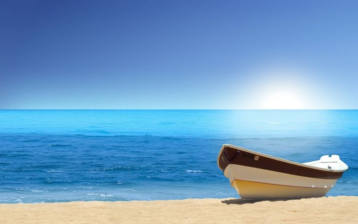 wallpaper Wallpaper   Download Wallpaper 4859 Sailboats Beach 736x460