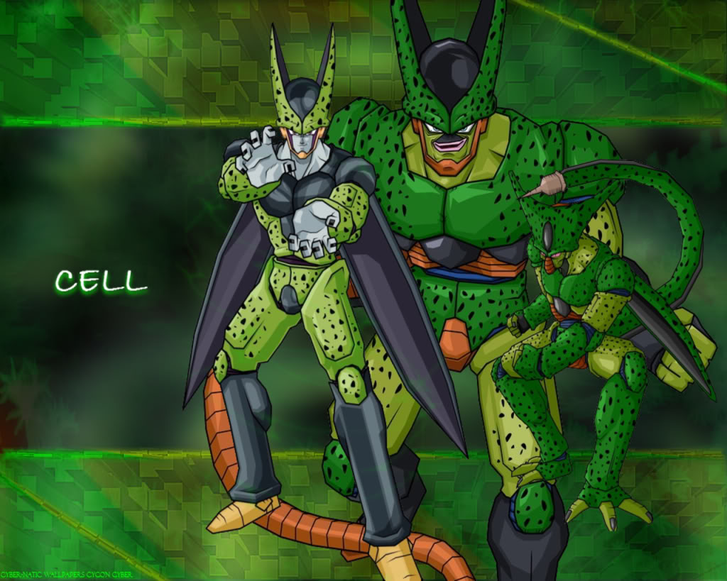 Back Gallery For dbz cell wallpaper 1024x819