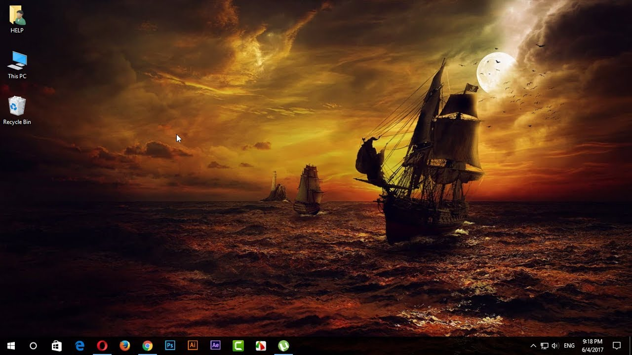 How To Use Animated Desktop Backgrounds Wallpaper Windows 7 8 10 1280x720