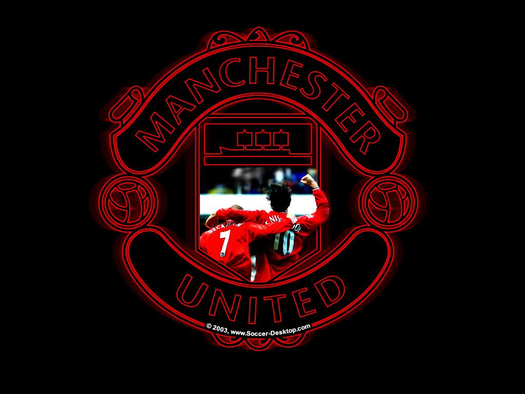 Manchester United Logo Wallpaper - WallpaperSafari