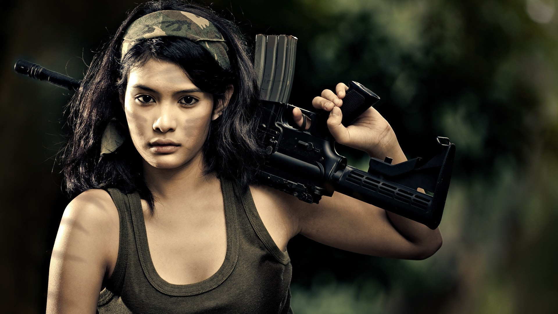 Army Girl with Gun HD Wallpapers   New HD Wallpapers 1920x1080