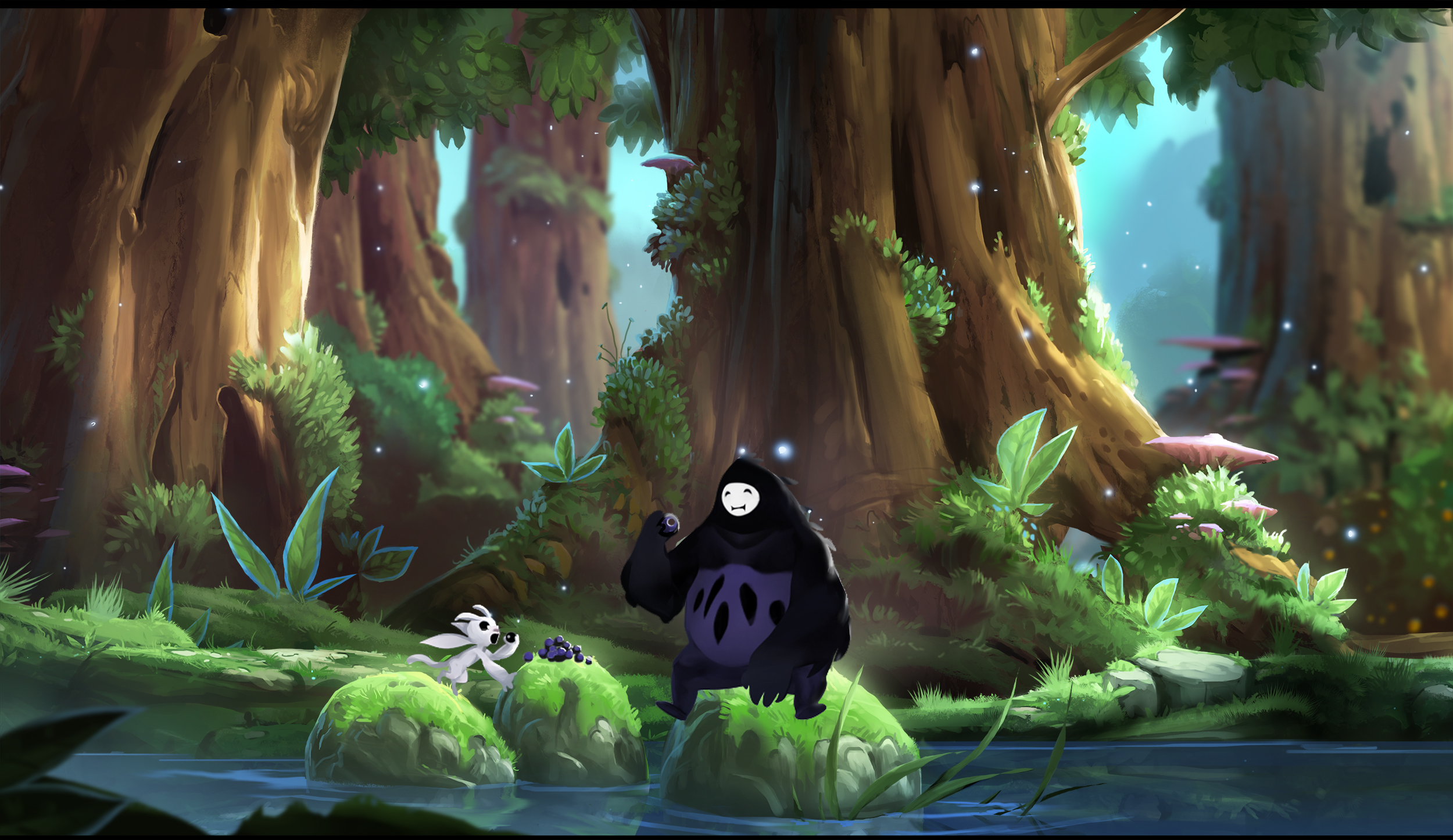 Ori and the Blind Forest review. VERY PRETTY game, AND a ...