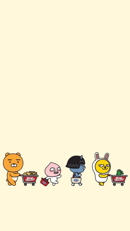 kakao friends wallpaper which Friends wallpaper Character 736x1309