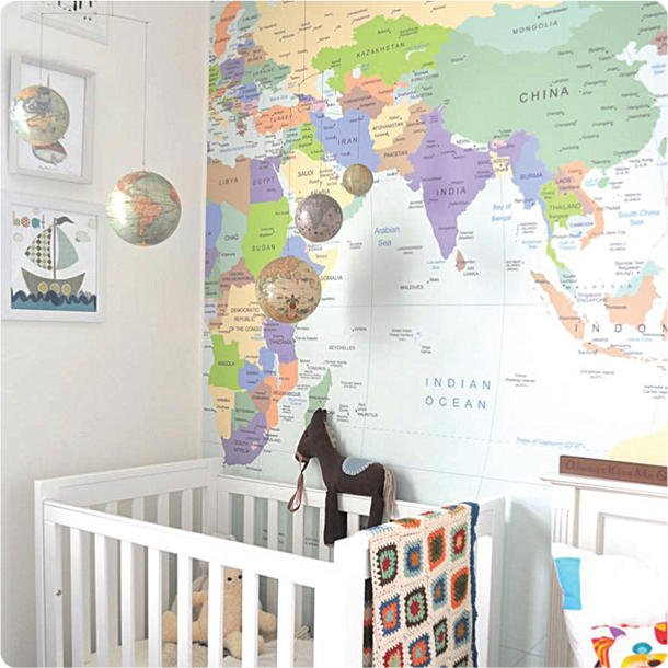 world map wallpaper for walls 610x610