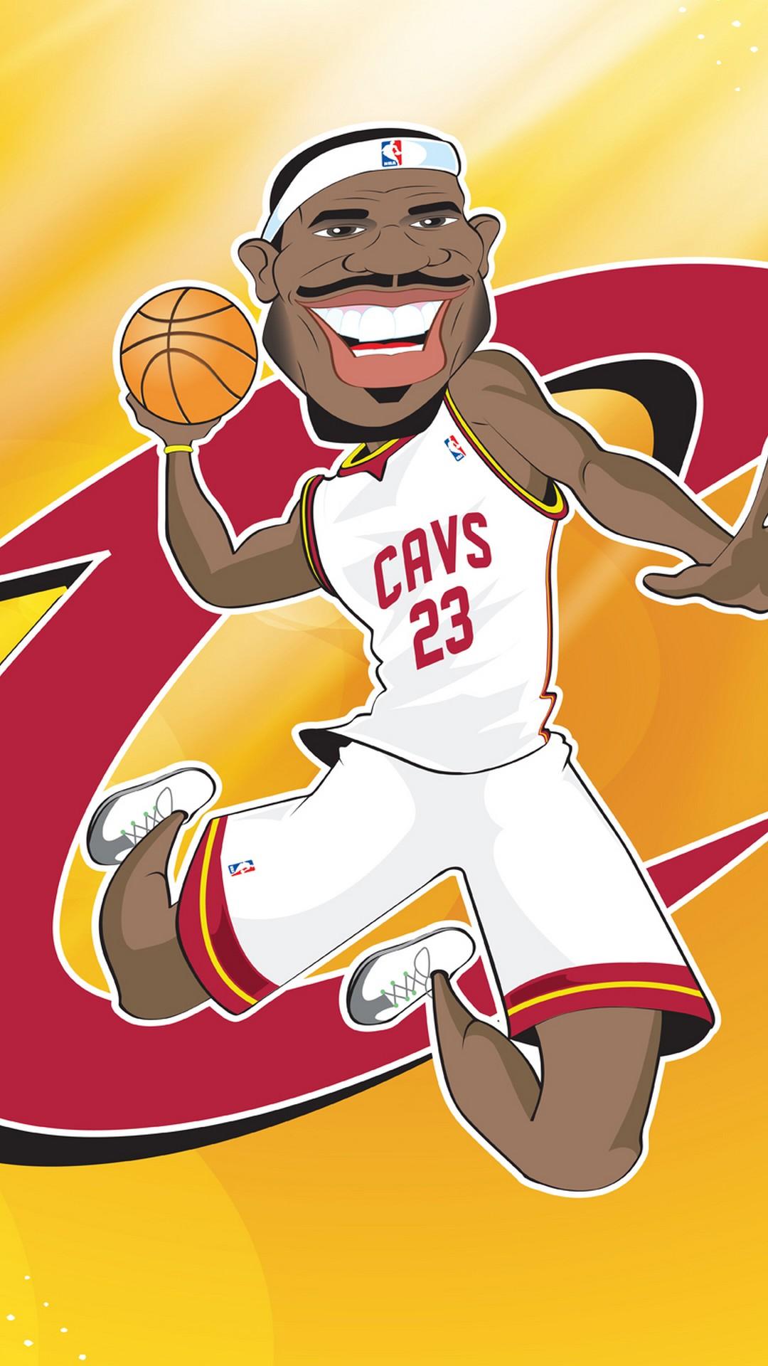 Cleveland Cavaliers NBA iPhone 8 Wallpaper 2020 Basketball Wallpaper 1080x1920