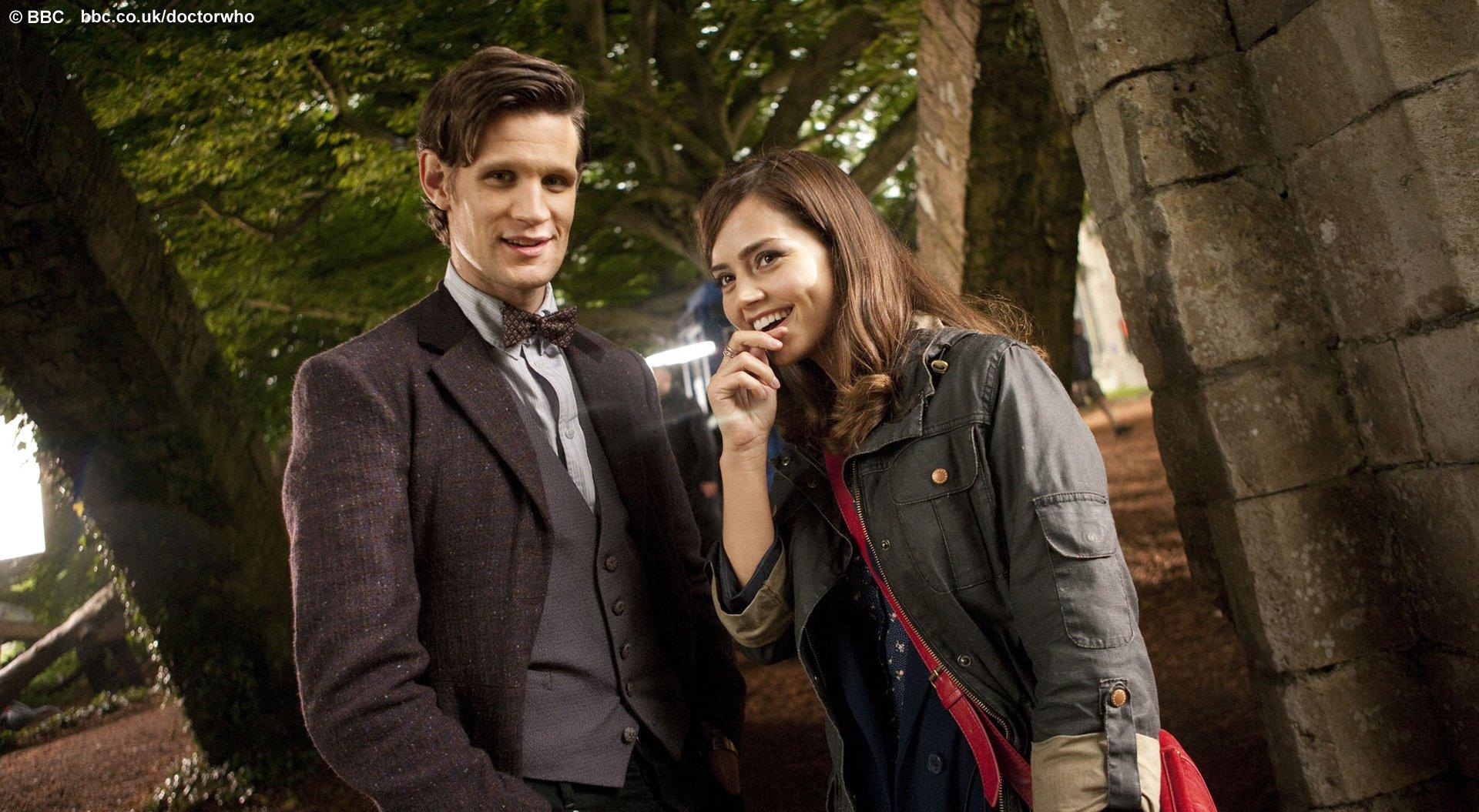 Free Download Bbc Latest News Doctor Who Matt Smith And Jenna