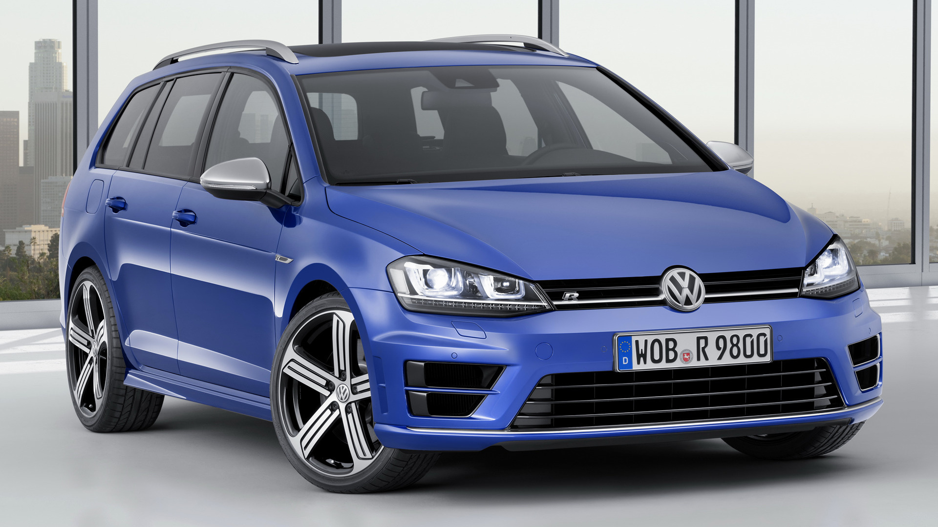 Volkswagen Golf R Variant 2015 Wallpapers and HD Images 1920x1080
