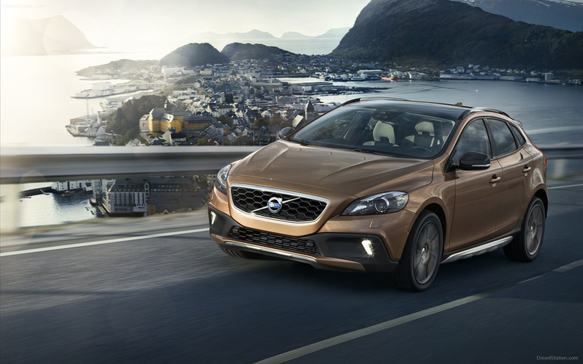 Volvo V40 Cross Country 2013 Widescreen Exotic Car Wallpaper 21 1920x1200