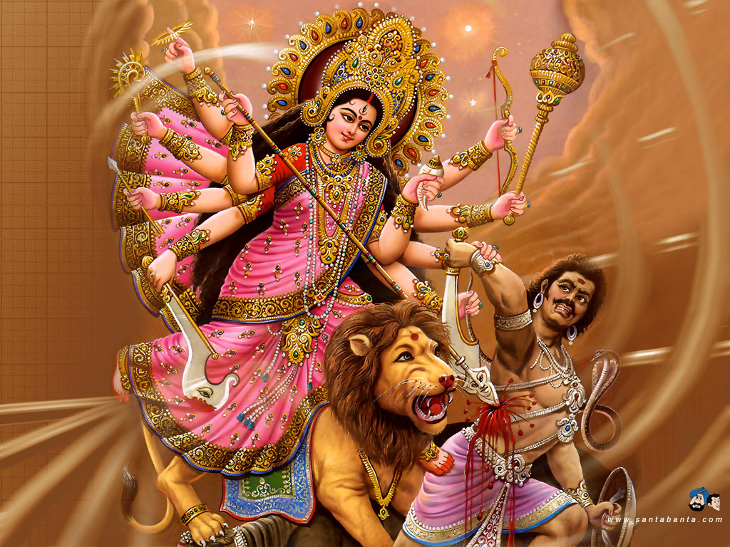 Goddess Durga Wallpaper 16 1024x768