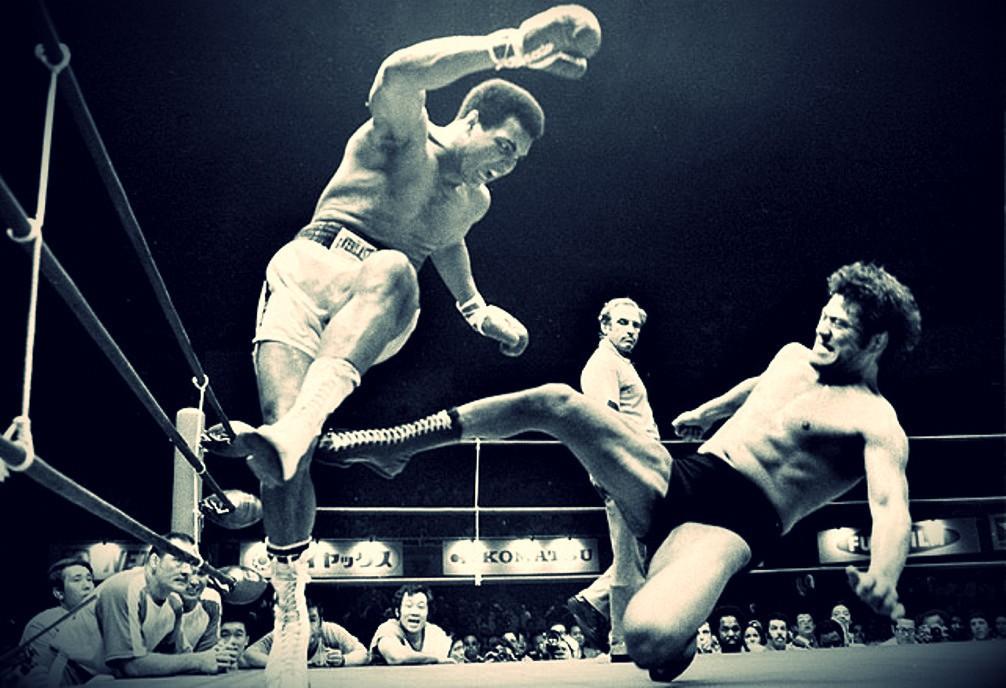 Ali boxing wallpaper