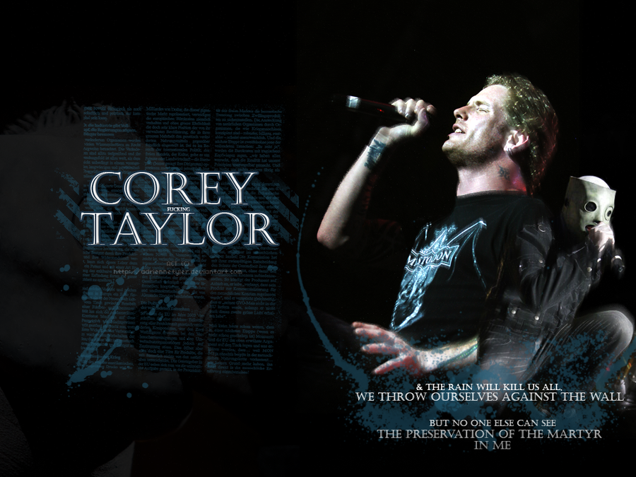 corey taylor wallpaper by adriennetyler on deviantart 900x675