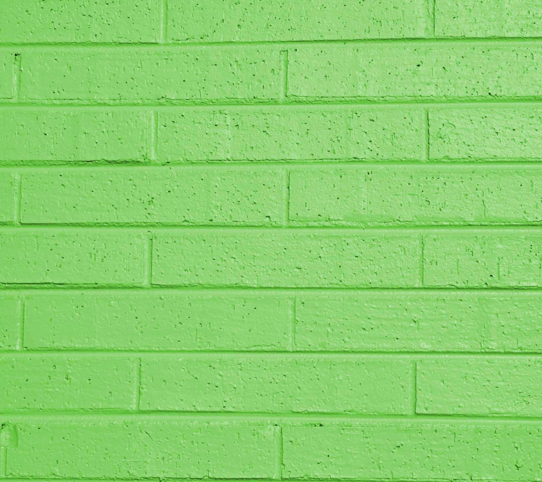 Free Download Lime Green Painted Brick Wall 1800x1600 For