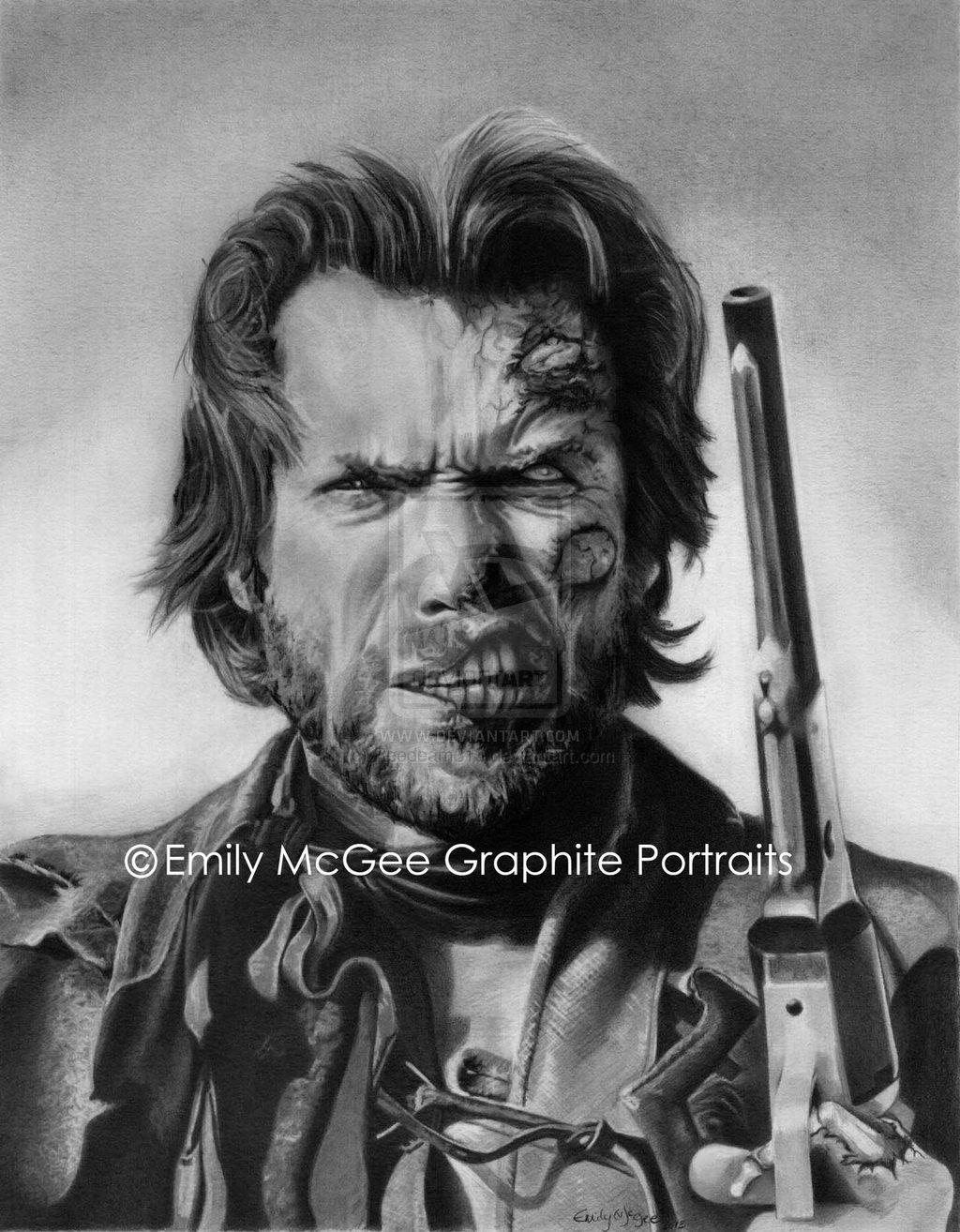 Zombie Josey Wales aka Clint Eastwood by Reedeam313 1024x1314