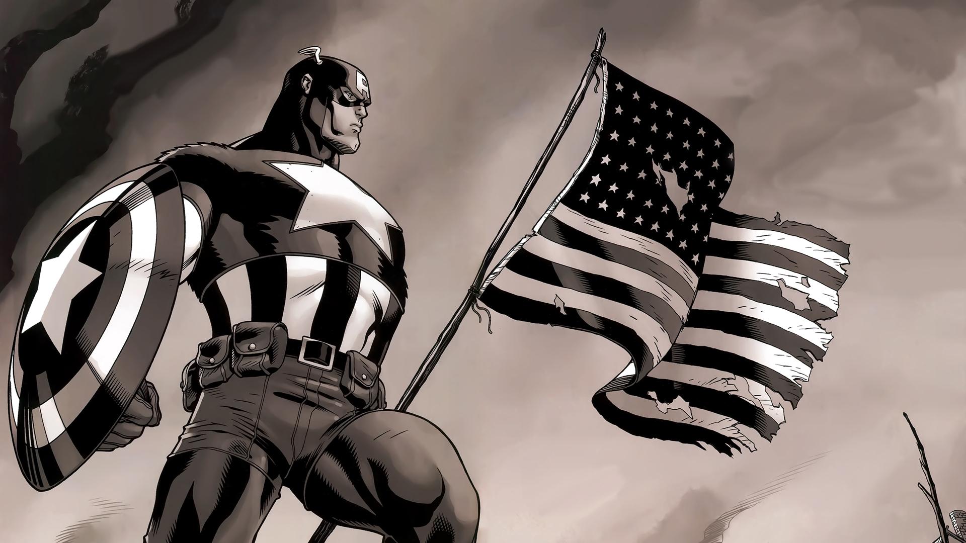 48 Captain America Wallpaper Comic Book On Wallpapersafari