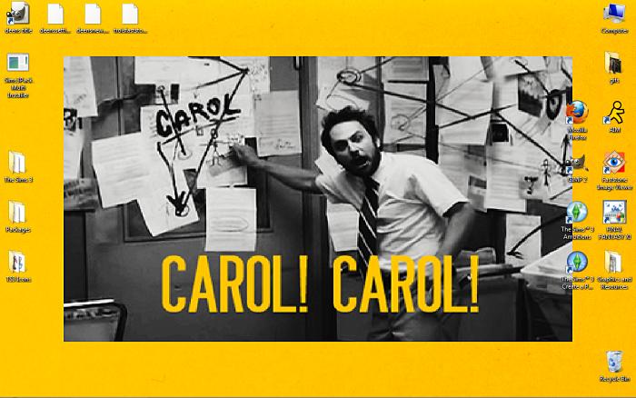 Always Sunny in Philadelphia Wallpaper Carol Carol in HR Charlie Going ...