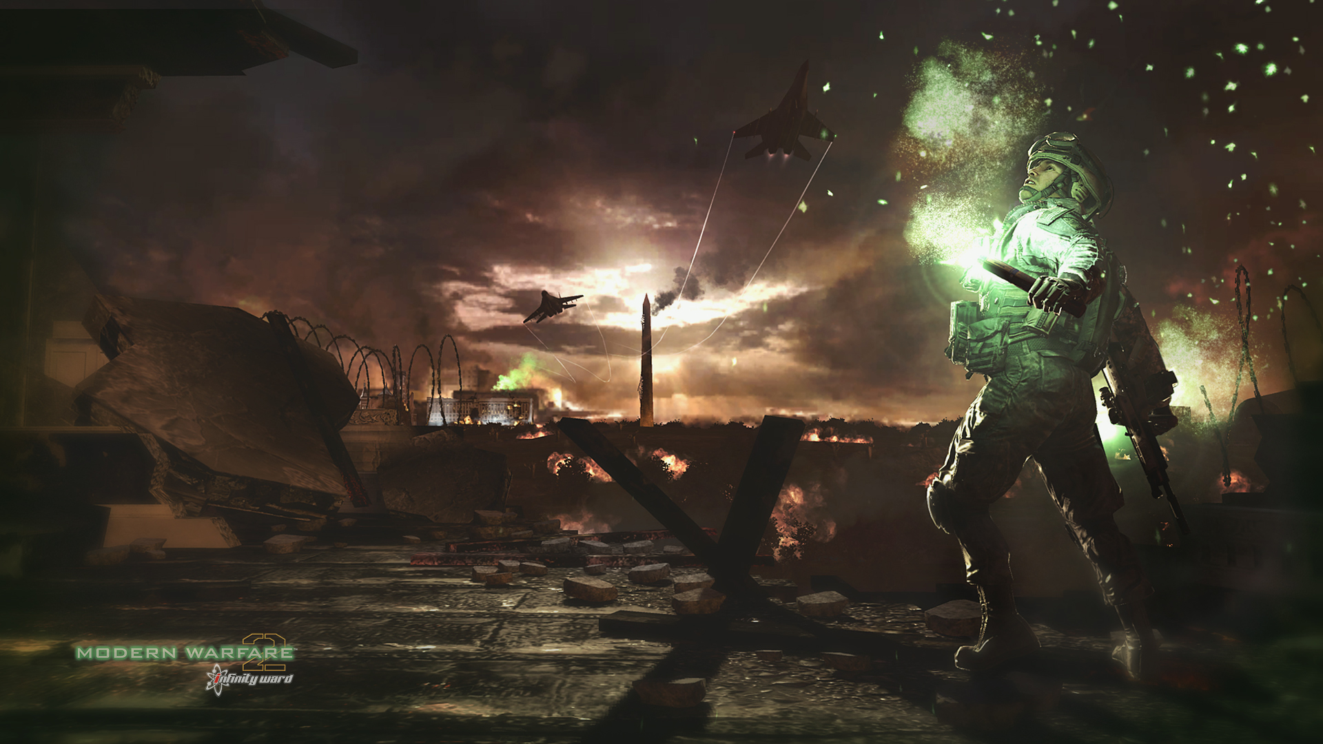 Nighttime Warzone Wallpaper   Modern Warfare 2 Wallpaper Hd 1920x1080