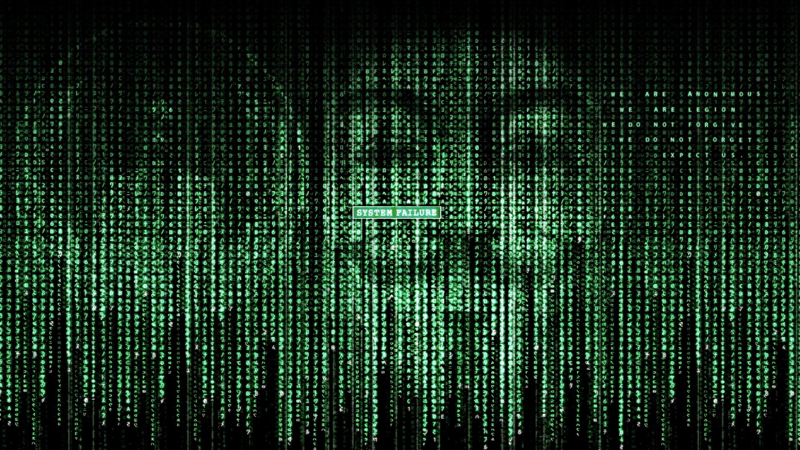 Hack hacking hacker virus anarchy dark computer internet anonymous 2560x1440
