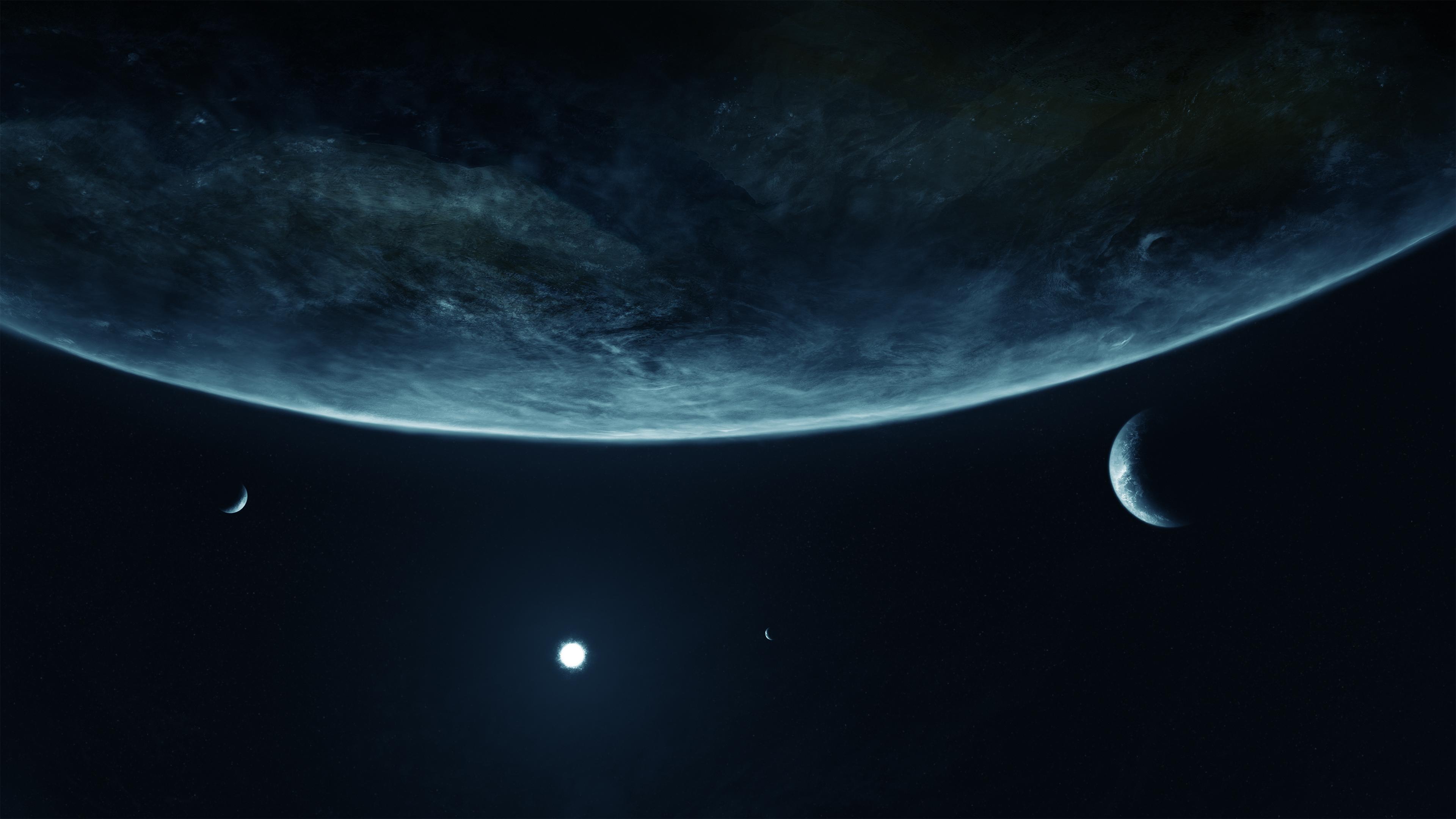 Planets Star wallpaper 3840x2160 177884 WallpaperUP 3840x2160