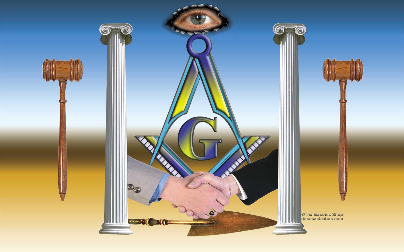 Masonic Wallpaper Courtesy of The Masonic Shop Page Four 1680x1050