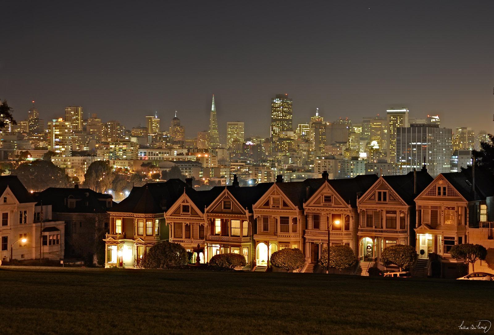 San Francisco Skyline VI by tt83x 1600x1086