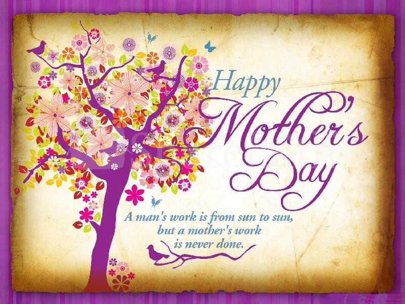 Happy mothers day message wallpaper HD Wallpaper 800x600