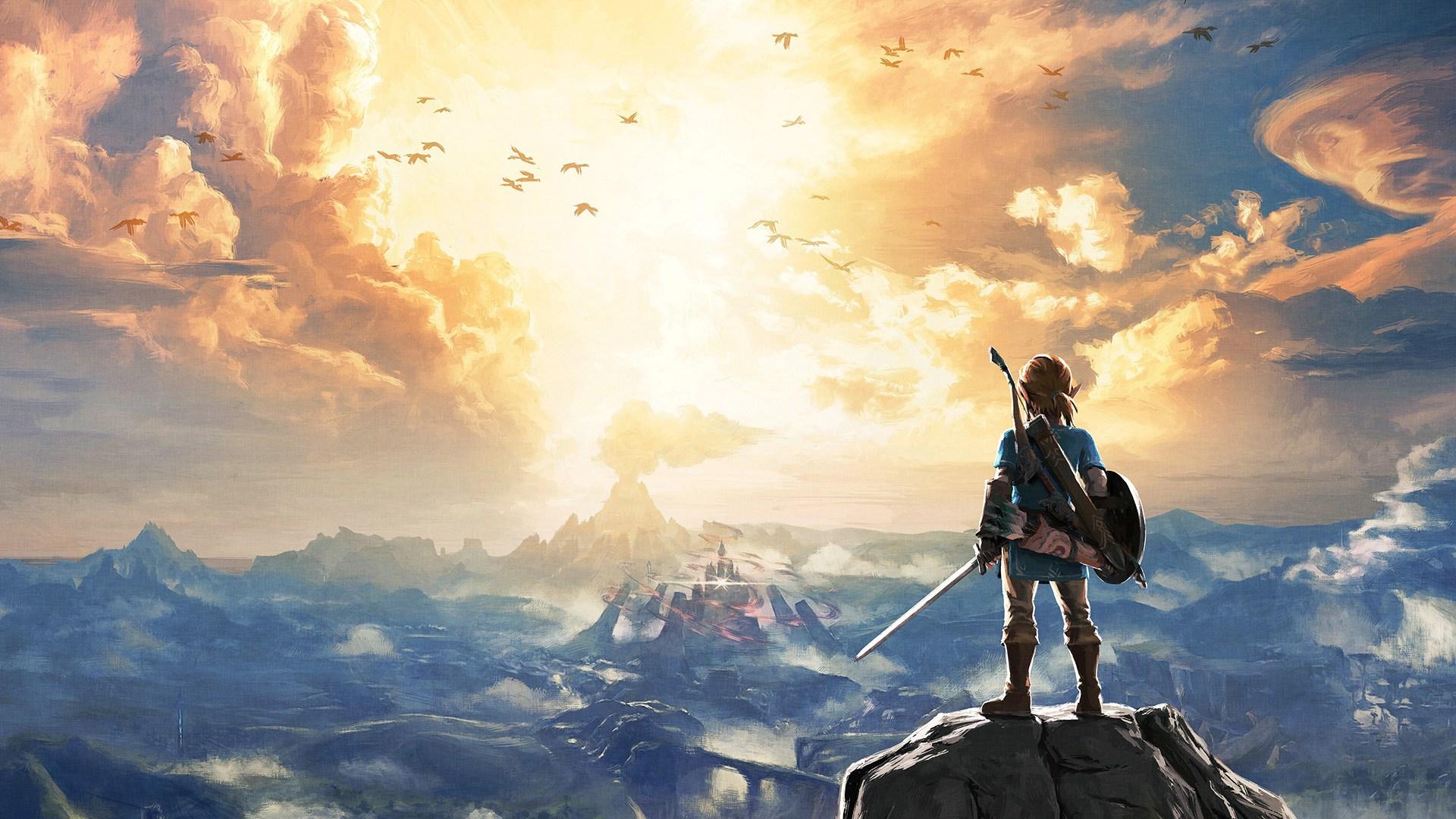 87+ Legend Of Zelda: Breath Of The Wild Wallpapers on ...