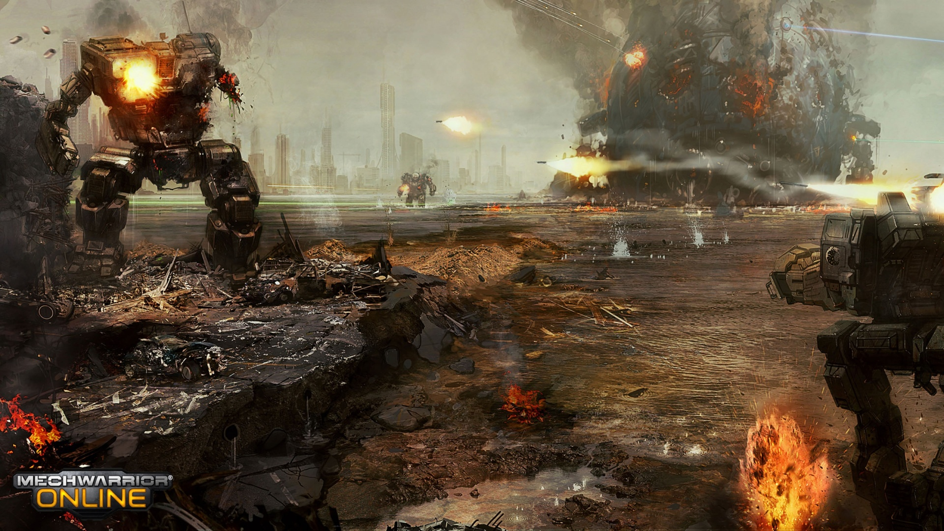 Mechwarrior Game 1920 x 1080 Download Close 1920x1080