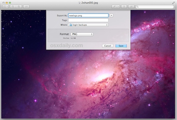 Return to the OS X Finder and make 4 yes four copies of the PNG 600x407