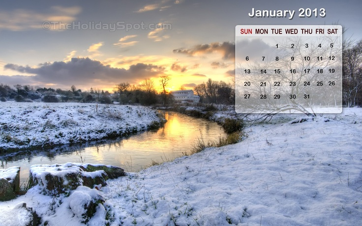 January Calendar Wallpaper 01nice 1 new year celebrataion Pint 736x460
