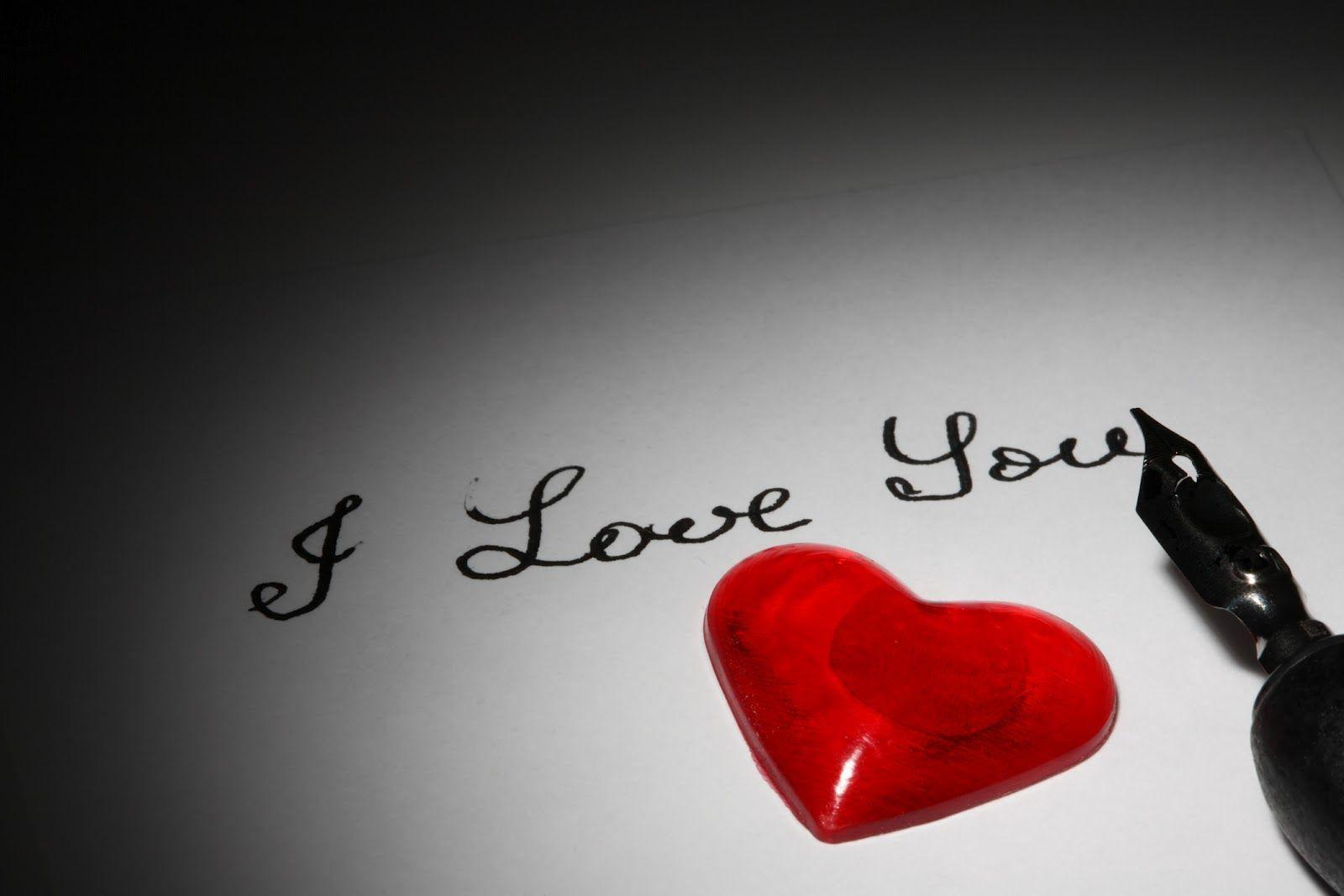I Love You Heart Wallpapers 1600x1067